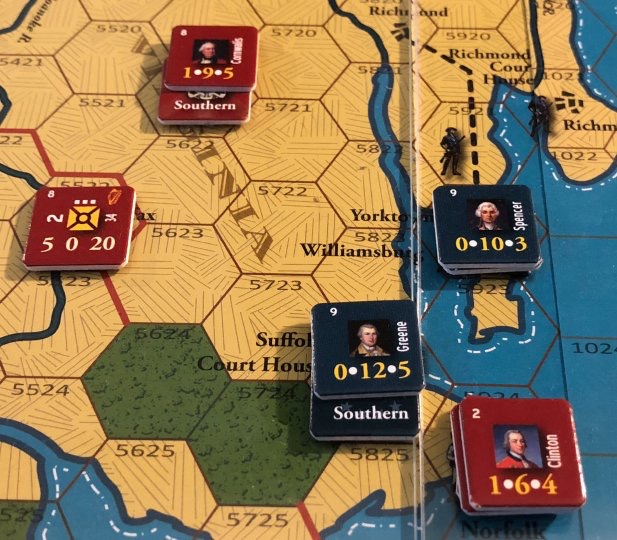 End of Empire, Turn 14, The Battle of Norfolk