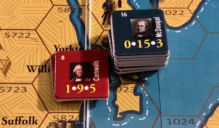 End of Empire, Turn 16, The Battle of Williamsburg