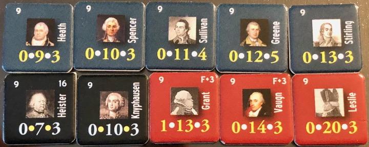 End of Empire, Turn 9, An abundance of Generals