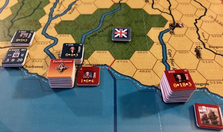 End of Empire, Turn 8, Lifting the Siege of Georgetown