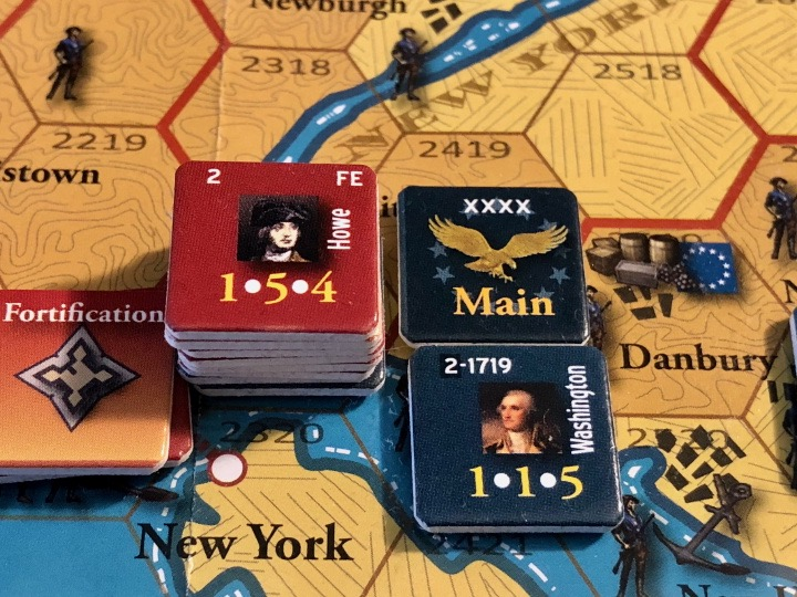 End of Empire, Turn 8, the Battle of White Plains