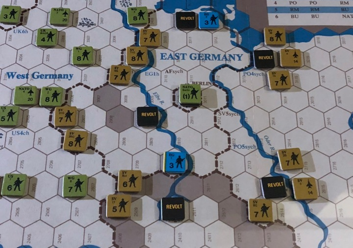 Revolt in the East, Turn 3, East Germany in Revolt