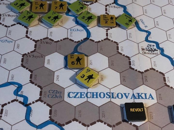 Revolt in the East, Turn 5, Czechoslovakian gambit
