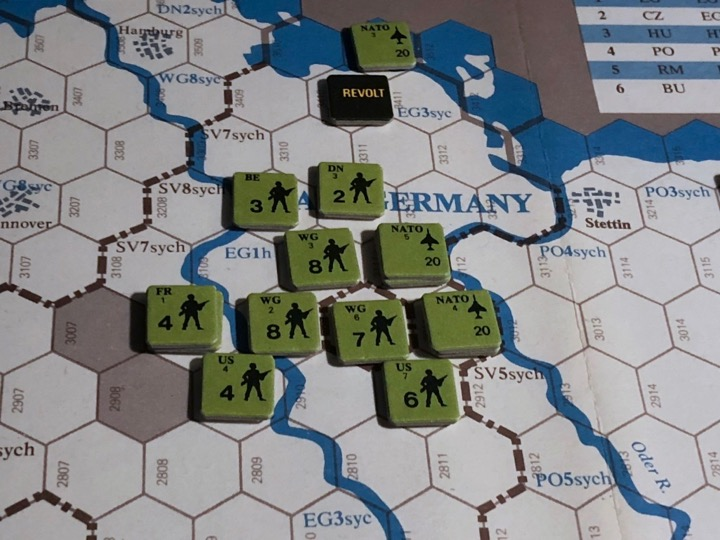 Revolt in the East, Turn 6, Liberation of East Germany