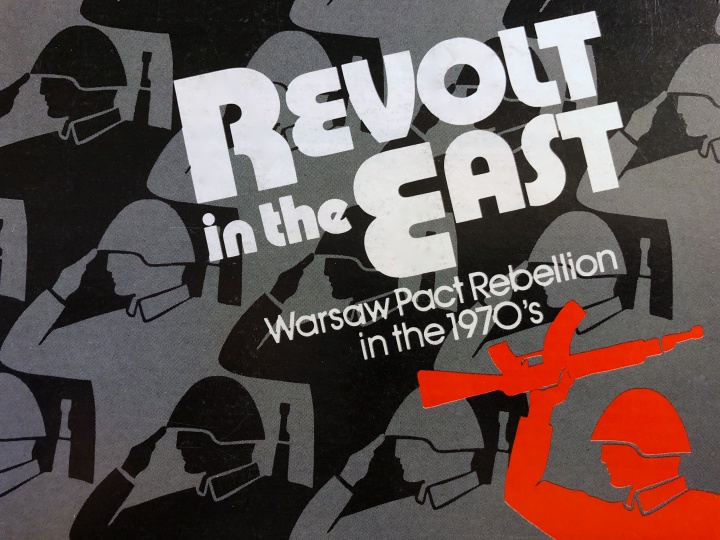 Revolt in the East, Cover image