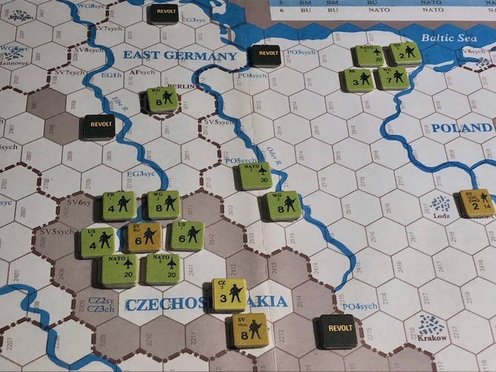 Revolt in the East, Turn 7, NATO Breakout from East Germany