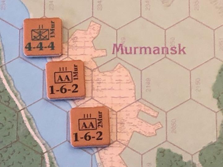 Murmansk 1941, Murmansk and its guardians