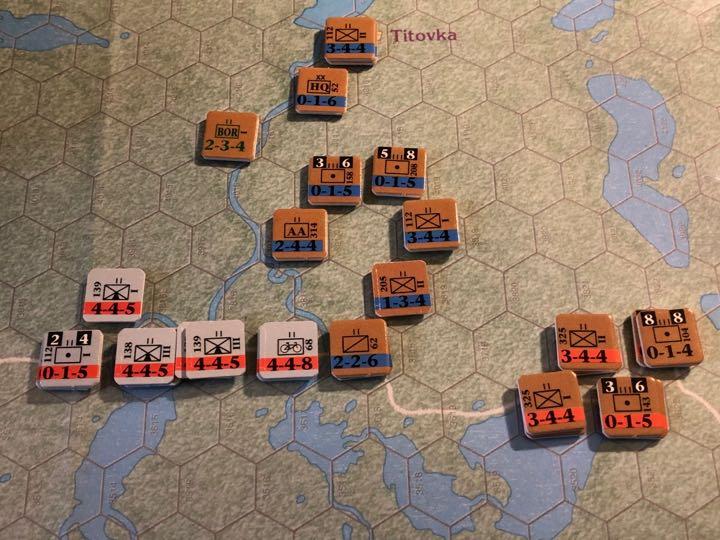Murmansk 1941, 14th Rifle Falls Back