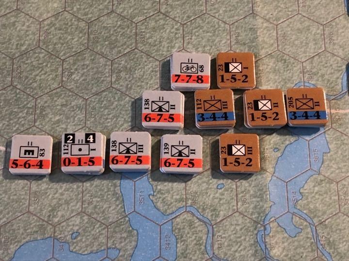 Murmansk 1941, Turn 2, 3rd Mountain Advances