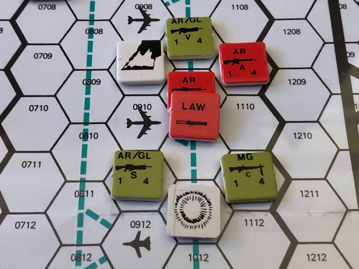 Alert Force, Flight line in flames