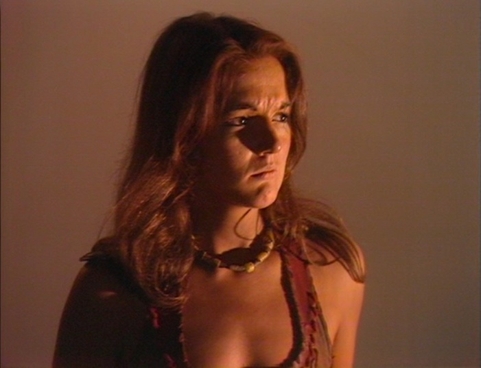 Introducing Louise Jameson as Leela