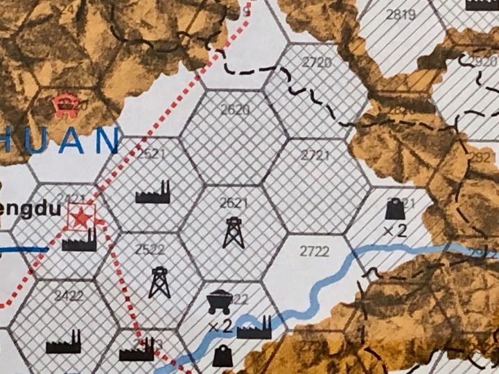 The China War, Map Detail