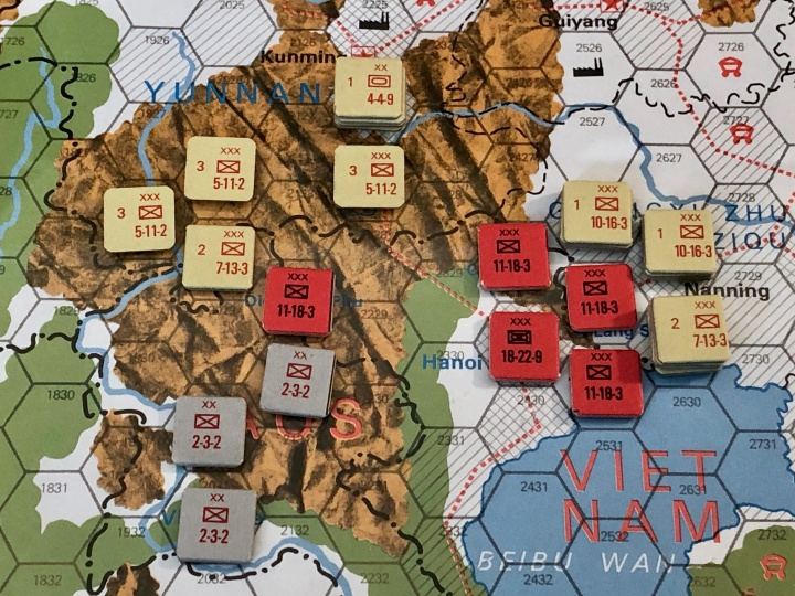 The China War, Objective Hanoi!, PLA Setup