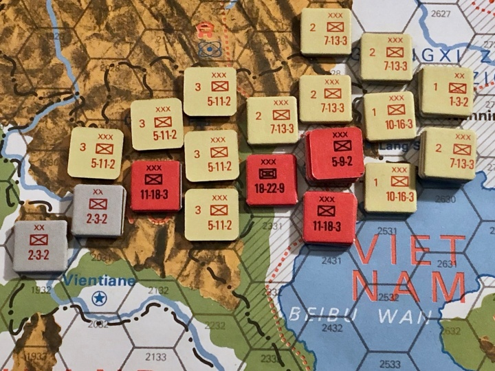 The China War, Objective Hanoi!, Situation End of Turn 4