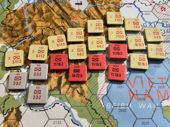 The China War, Objective Hanoi!, Situation End of Turn 7