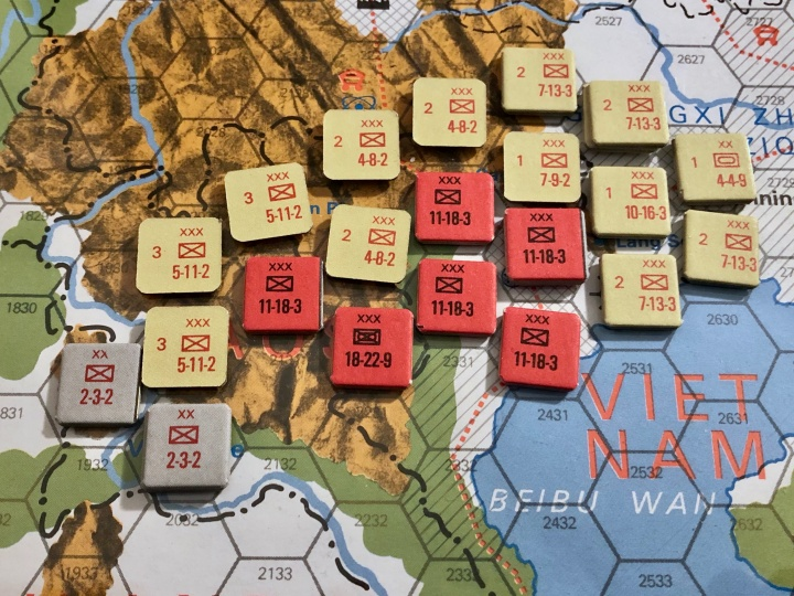 The China War, Objective Hanoi!, Situation End of Turn 8