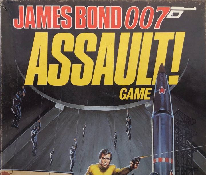 James Bond Assault! Game, Cover Detail