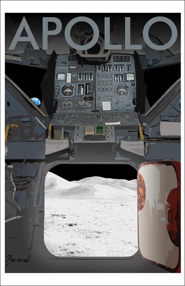 Apollo Moon View