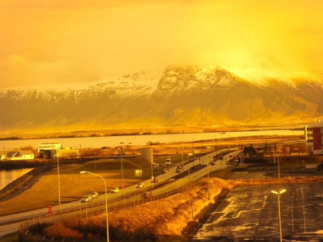 Reykjavik ice