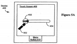 Slide to Unlock images from the Apple patent application