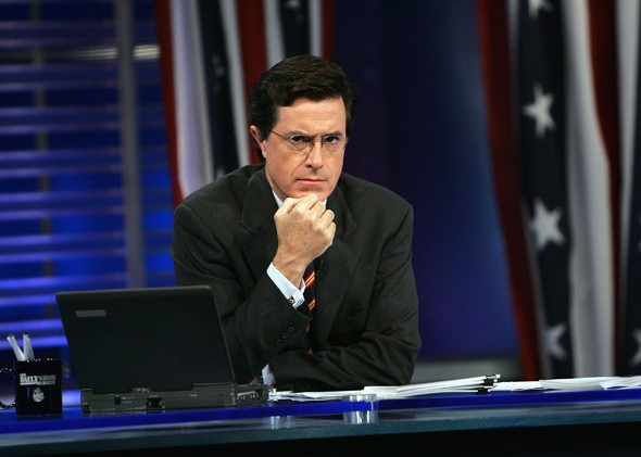 Stephen Colbert Truthiness comment on fake news