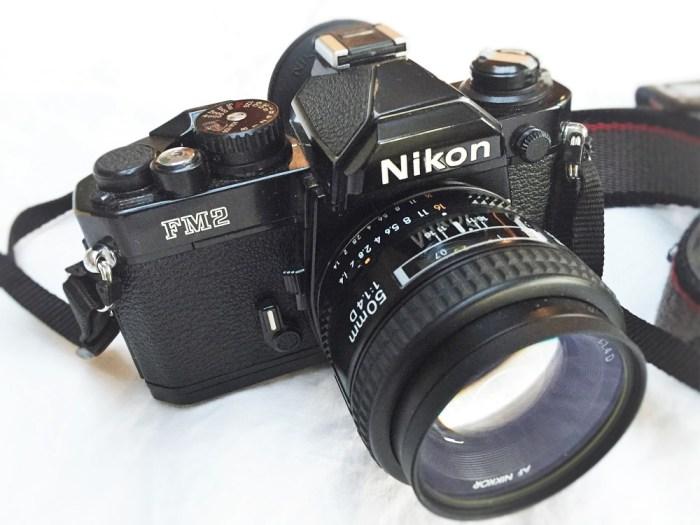 Nikon FM2n film camera
