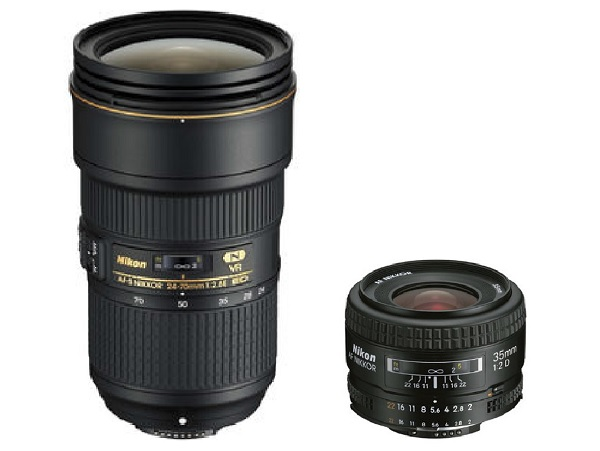 zoom and prime lenses compared