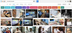 Google image search for information scientist