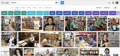 Google image search for librarian