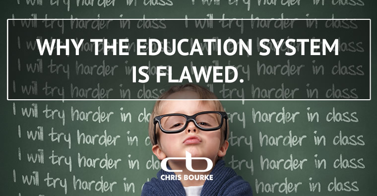 Why the education system is flawed