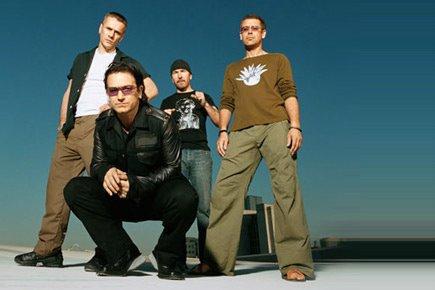 U2 fyller 30 år idag