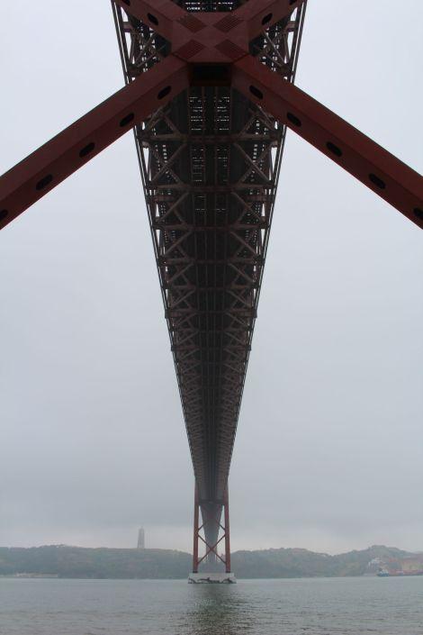 Ponte 25 de Abril Unterseite