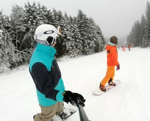 Snowboarding Winterberg