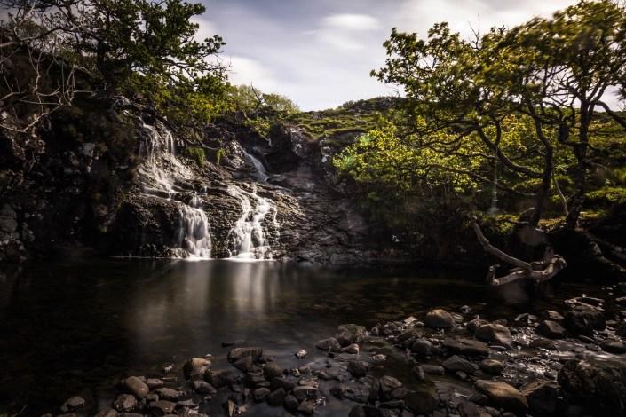 Wasserfall Eas Fors