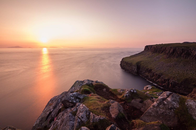 Sonnenuntergang Isle of Skye