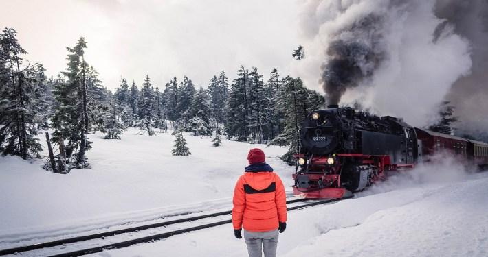 Brockenbahn im Winter