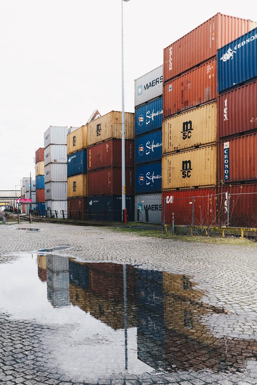 Farbkontrast Überseestadt Bremen