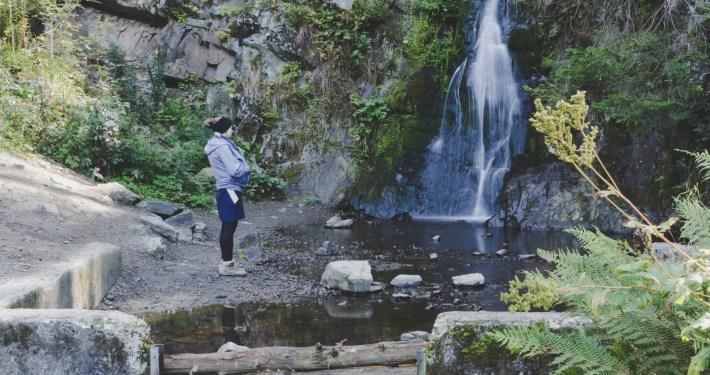 Ausflug zum Spiegelthaler Wasserfall