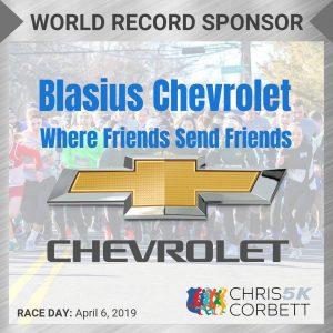 World Record CC5k Sponsor Post