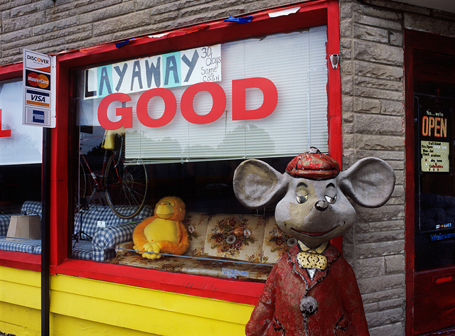 Giant Mouse On Wells Street In Fort Wayne Photograph By