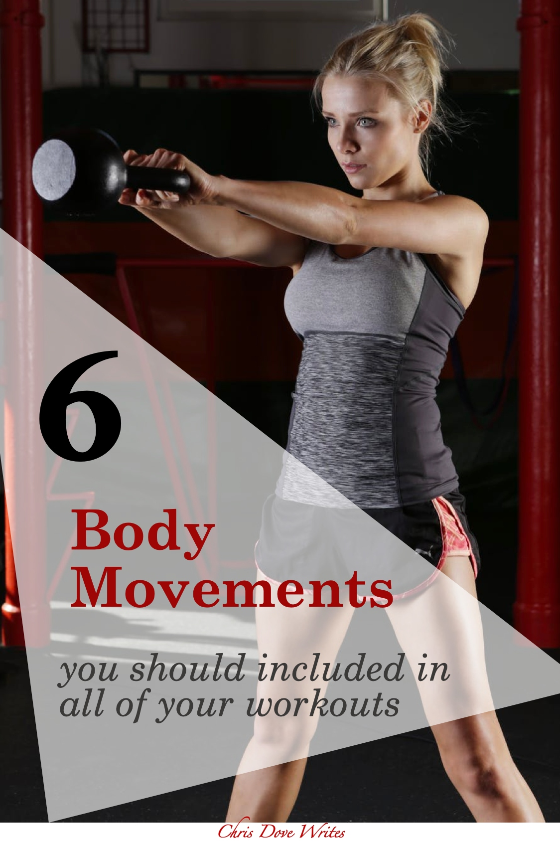 Pin Design - Include these 6 body movements in your workout