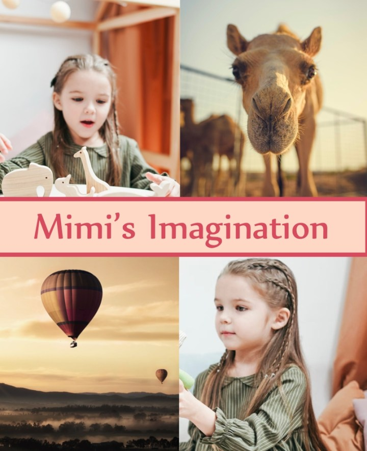 Mimi's Imagination coming to shelves near you soon.
