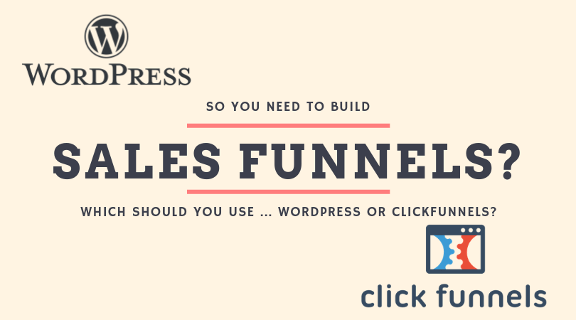 wordpress sales funnels
