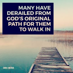 Walking in God's Original Path