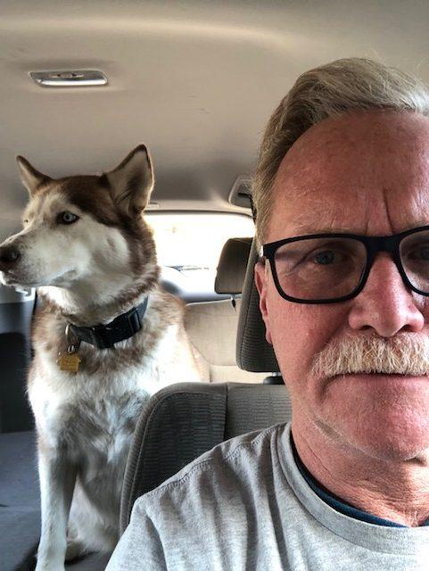 Teaching My Dog to Drive