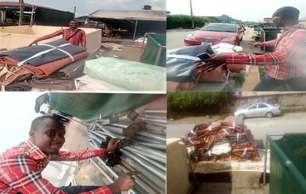 Cheap Tarpaulin Mobile Fish Pond For Sale In Nigeria