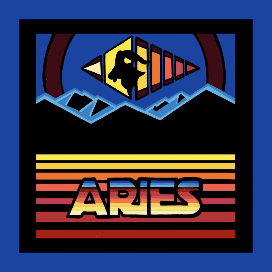 Aries artwork by Chris Freyer