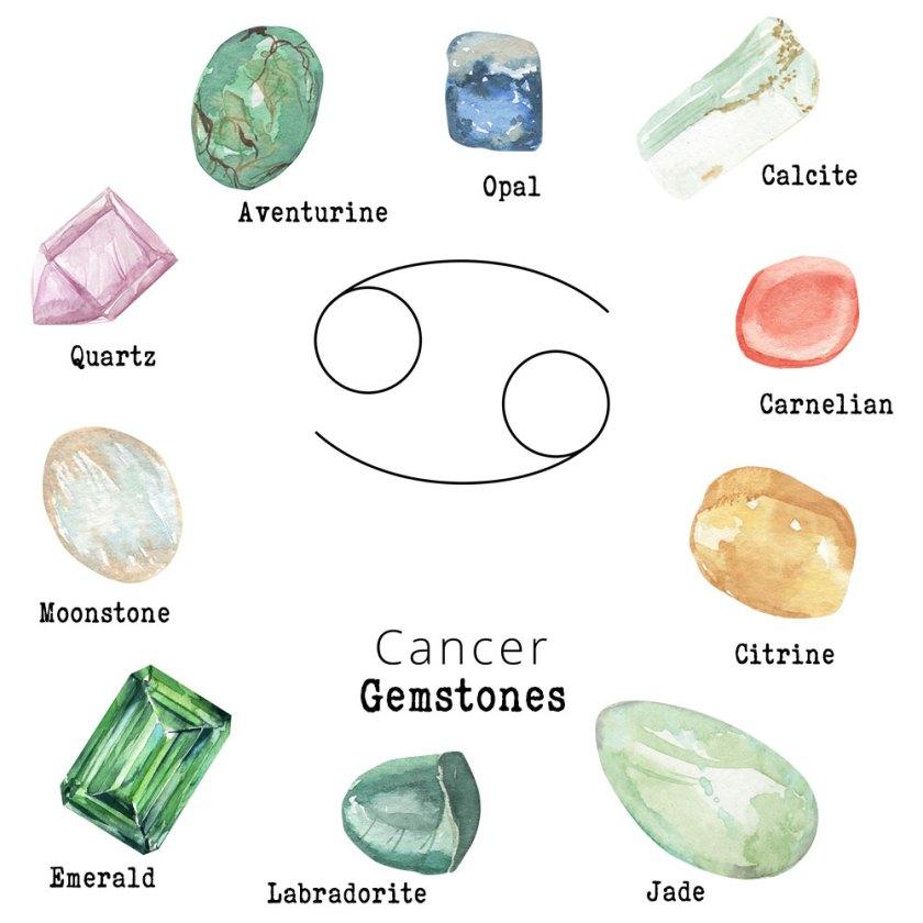 Cancer-Gemstones