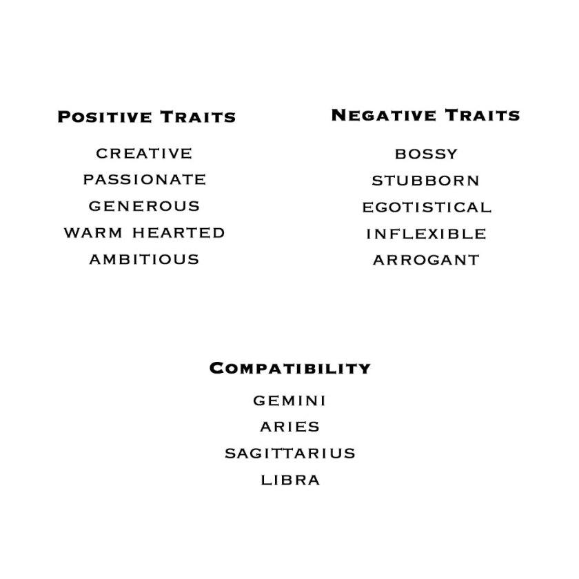Leo-Zodiac-Traits