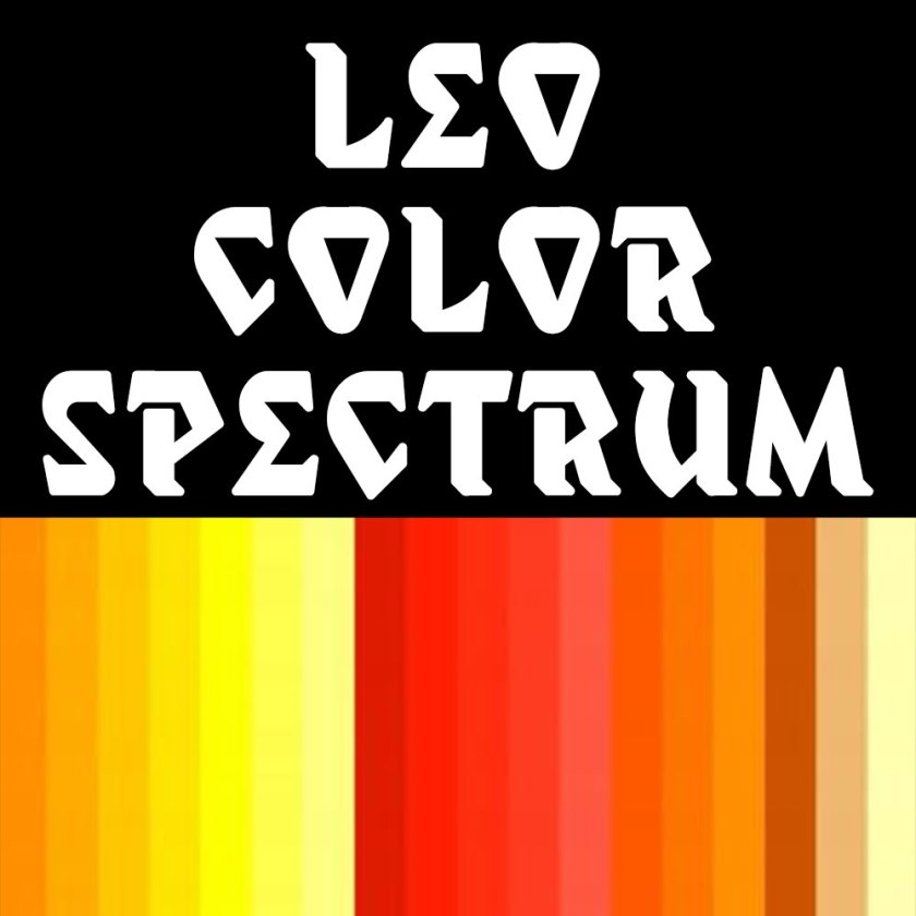Leo-color-spectrum